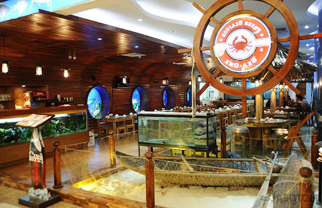 Mô hình kinh daonh nhà hàng hải sản